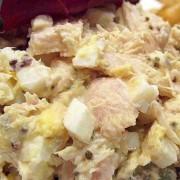 Tuna & Egg Salad Sandwich with Cheese - Tsuen Wan