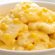 Corn and Fish Fillets in Cream Sauce with Rice or Spaghetti - Tsuen Wan